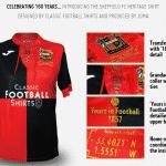 Le plus vieux club de football du monde a fêté ses 160 ans avec un maillot unique
