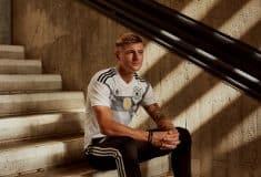 Image de l'article Les maillots de l'Allemagne et les chaussures des 23 joueurs pour la Coupe du monde 2018