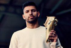 Image de l'article Kun Agüero portera une Puma One dorée face à Arsenal pour célébrer son record
