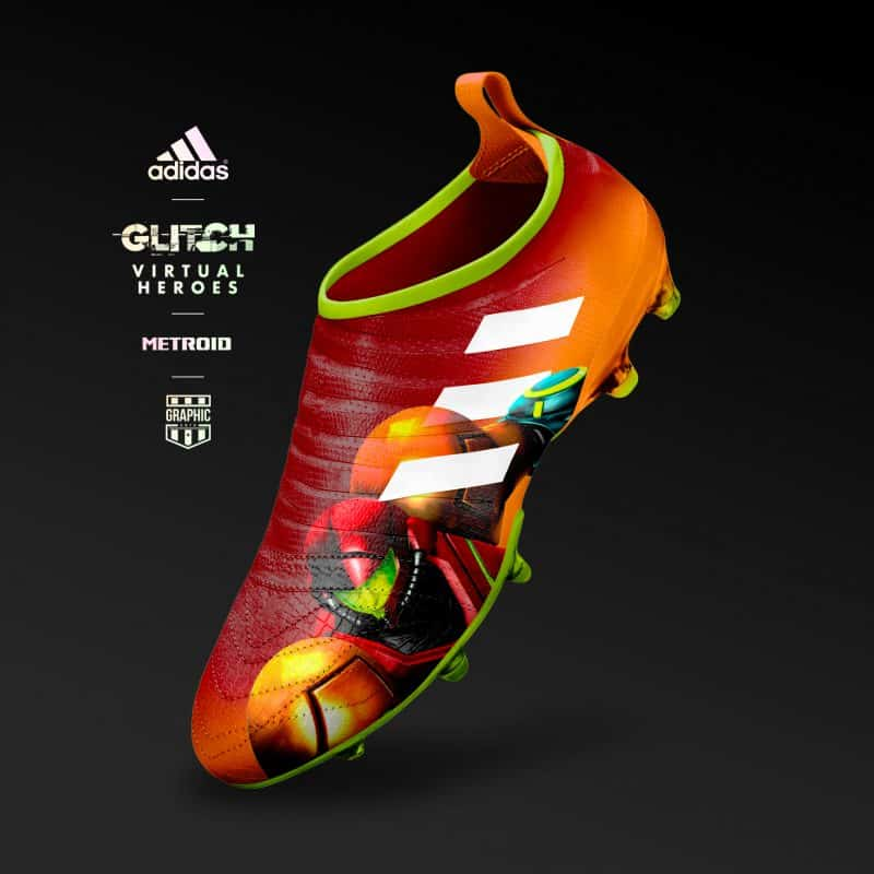 chaussure-adidas-football-glitch-heroes-metroid