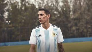 Image de l'article Les maillots de l'Argentine et les chaussures des 23 joueurs pour la Coupe du monde 2018