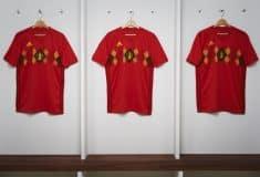 Image de l'article Les maillots de la Belgique et les chaussures des 23 joueurs pour la Coupe du monde 2018