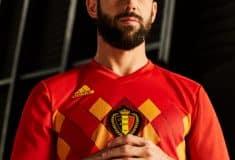 Image de l'article La Belgique présente ses maillots pour la Coupe du Monde 2018