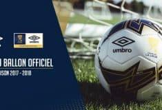 Image de l'article Un nouveau ballon Umbro pour la Coupe de la Ligue