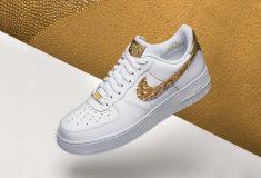 Image de l'article Nike dévoile la Air Force 1 CR7 Golden Patchwork, après la Nike Air Max 97 CR7