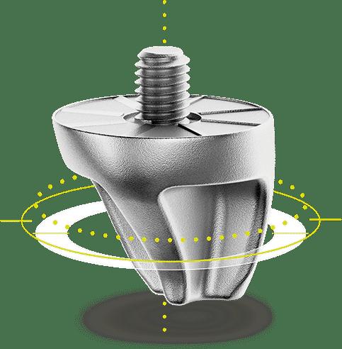 Smart Power, le crampon vissé nouvelle génération dans le