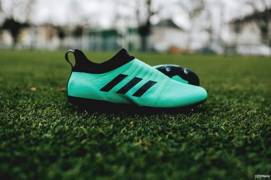 chaussures-football-adidas-GLITCH-18-Nocturnal-Vert-Givré-img2