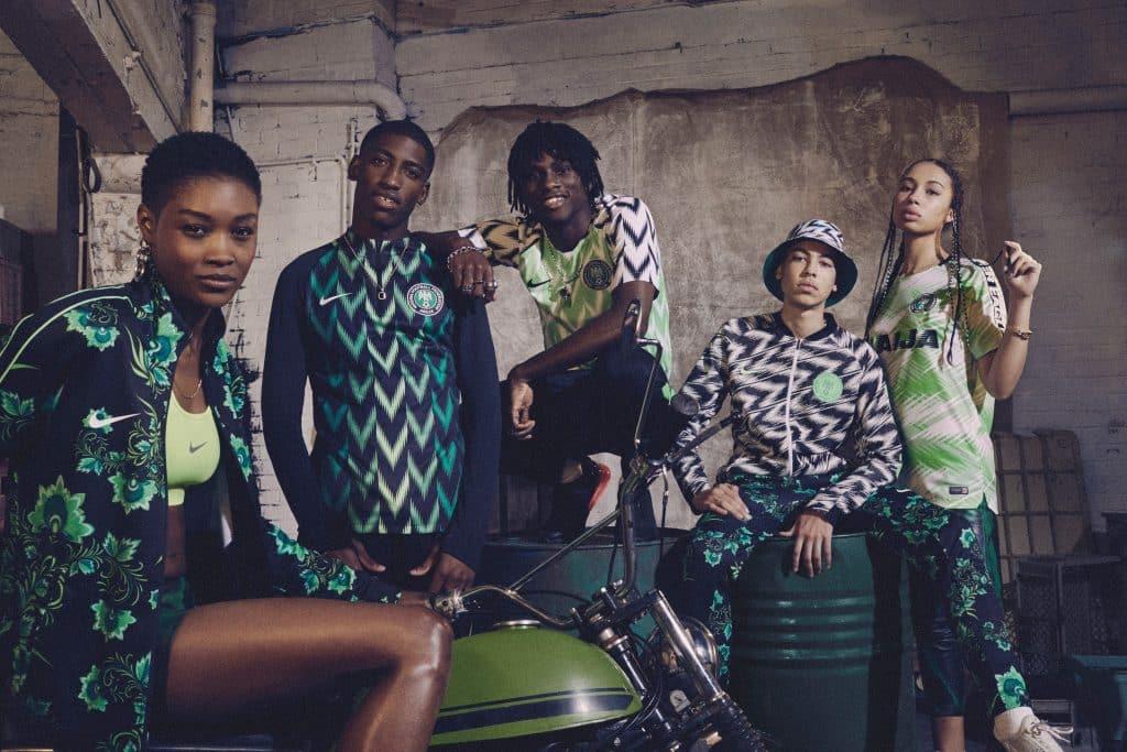 Nigéria Du Nike Maillots Les La 2018 Coupe Présente Monde Pour vnwmN08