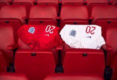 Image de l'article Les maillots de l'Angleterre et les chaussures des 23 joueurs pour la Coupe du monde 2018