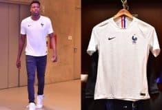 Image de l'article Le nouveau maillot extérieur de l'équipe de France dévoilé par le basketteur Frank Ntilikina ?