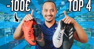 Image de l'article Footpack TV – Les meilleures chaussures de foot à moins de 100 euros