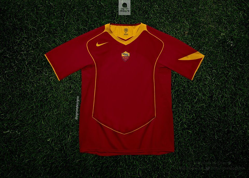 Maillot-Nike-Total-90-AS-Roma