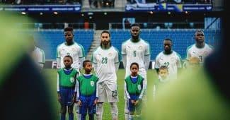 Image de l'article Les maillots du Sénégal et les chaussures des 23 joueurs pour la Coupe du monde 2018