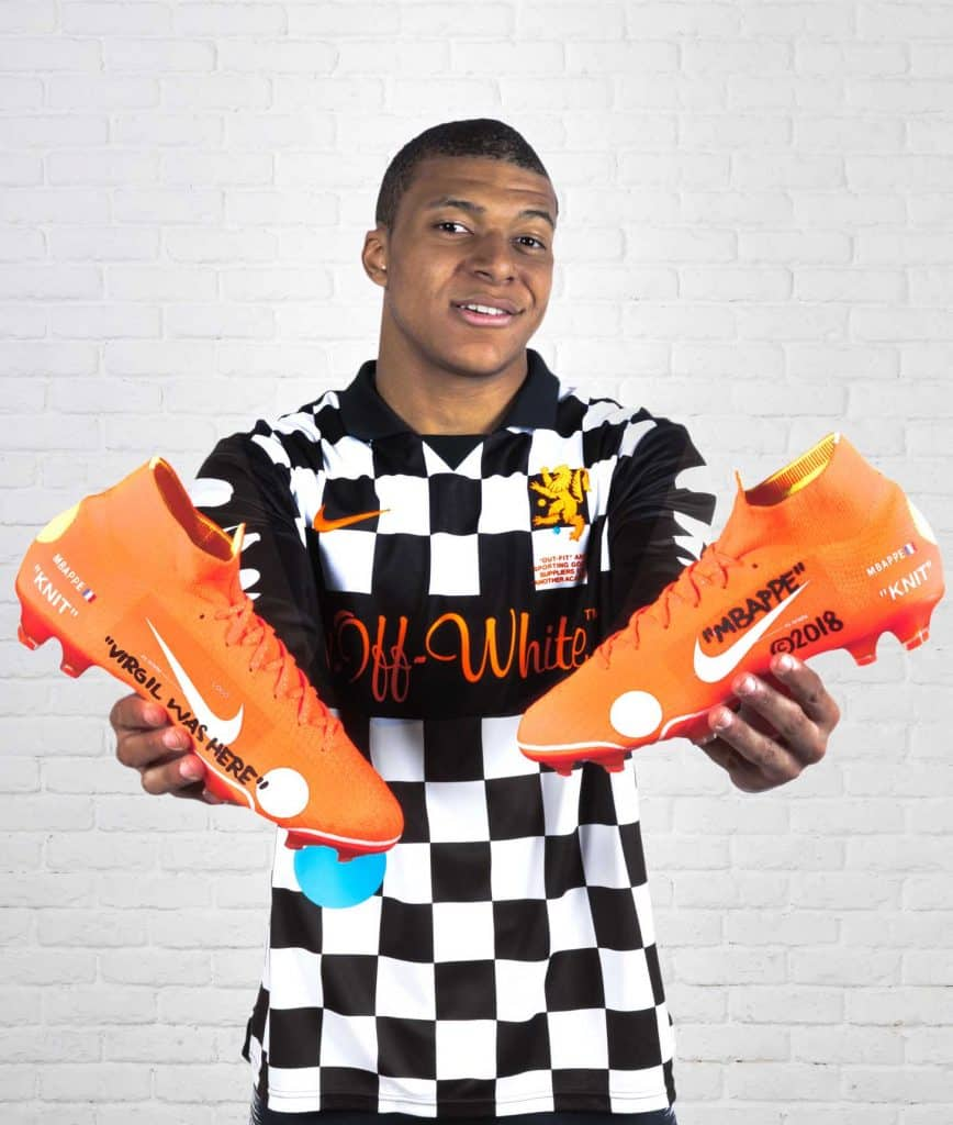 chaussure-nike-football-mercurial-offwhite-kylian-mbappe-psg-mars-2018-2