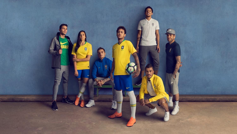 survetement equipe de Brésil Entraînement