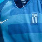 Nike dévoile les nouveaux maillots de la Grèce