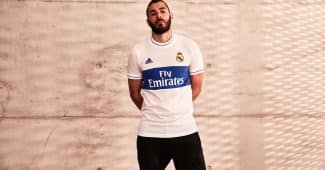 Image de l'article adidas lance un maillot de foot lifestyle « Icon Jersey » du Real Madrid