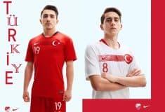 Image de l'article Nike dévoile les nouveaux maillots de la Turquie