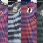 Adidas dévoile ses maillots pré-match pour la Coupe du Monde