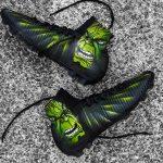 Tigran Barseghyan jouera avec une Nike Mercurial Superfly V customisée en mode Hulk par l'artiste «Swithadot»