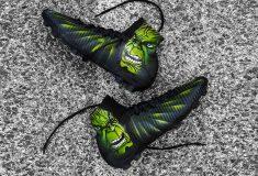 Image de l'article Tigran Barseghyan jouera avec une Nike Mercurial Superfly V customisée en mode Hulk par l'artiste «Swithadot»