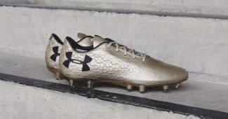 Image de l'article Under Armour présente son nouveau coloris «Metallic Gold» sur la Magnetico Pro