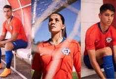 Image de l'article Nike dévoile les maillots du Chili