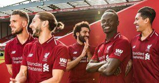 Image de l'article Liverpool et New Balance présentent les maillots 2018-2019