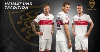 Image de l'article Puma dévoile les maillots du VfB Stuttgart pour 2018-2019