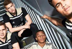 Image de l'article L'Ajax Amsterdam et adidas dévoilent les maillots 2018-2019