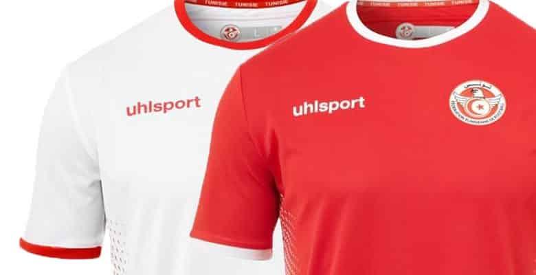 uhlsport pr sente les maillots de la tunisie pour la coupe du monde 2018. Black Bedroom Furniture Sets. Home Design Ideas