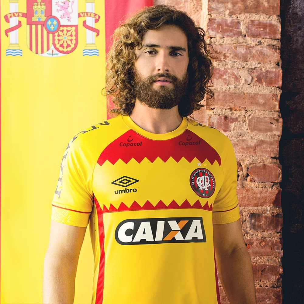 maillots-football-Umbro-nations-atletico-paranense-espagne-avril-2018