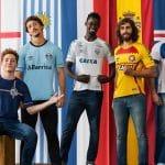Umbro dévoile une collection «Umbro Nations» pour ses clubs brésiliens!