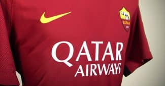 Image de l'article Qatar Airways, nouveau sponsor maillot de l'AS Roma