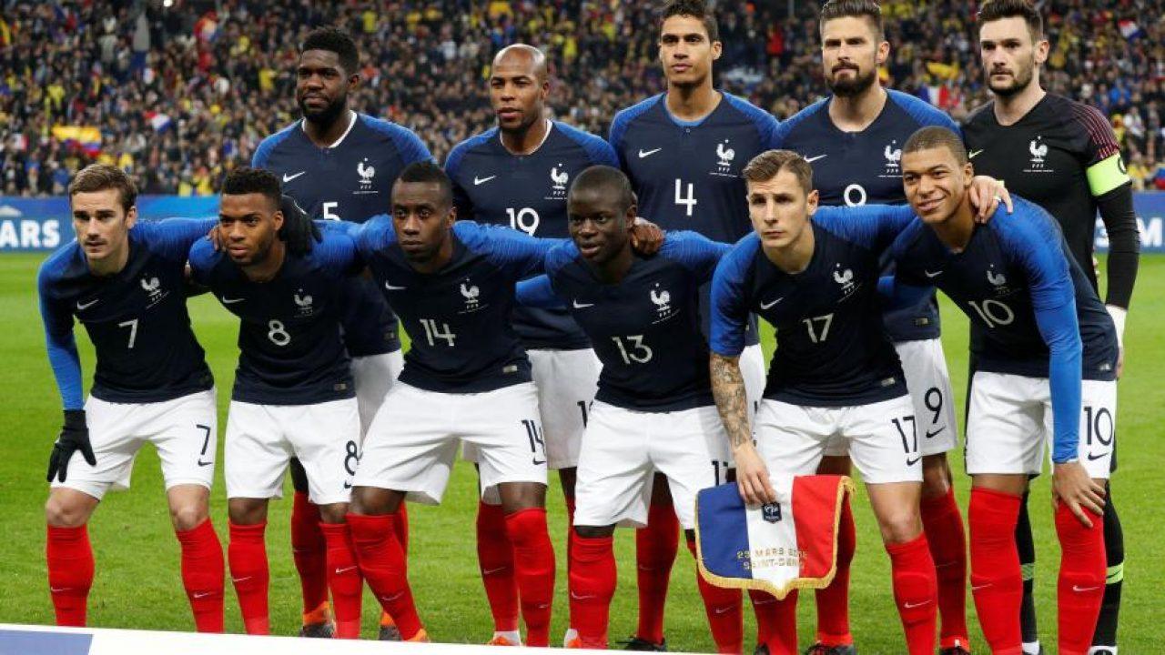 Bleus Les Sélectionnés Du Des Chaussures La 23 Pour Coupe Monde FJuK1lcT3