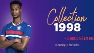 Image de l'article Toulouse et Joma dévoilent un maillot génération 98 pour la Coupe du Monde