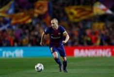 Image de l'article Nike dévoile un maillot du FC Barcelone en hommage à Iniesta !