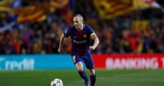 Image de l'article Nike dévoile un maillot du FC Barcelone en hommage à Iniesta!