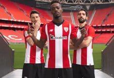 Image de l'article New Balance dévoile les maillots 2018-2019 de l'Athletic Bilbao