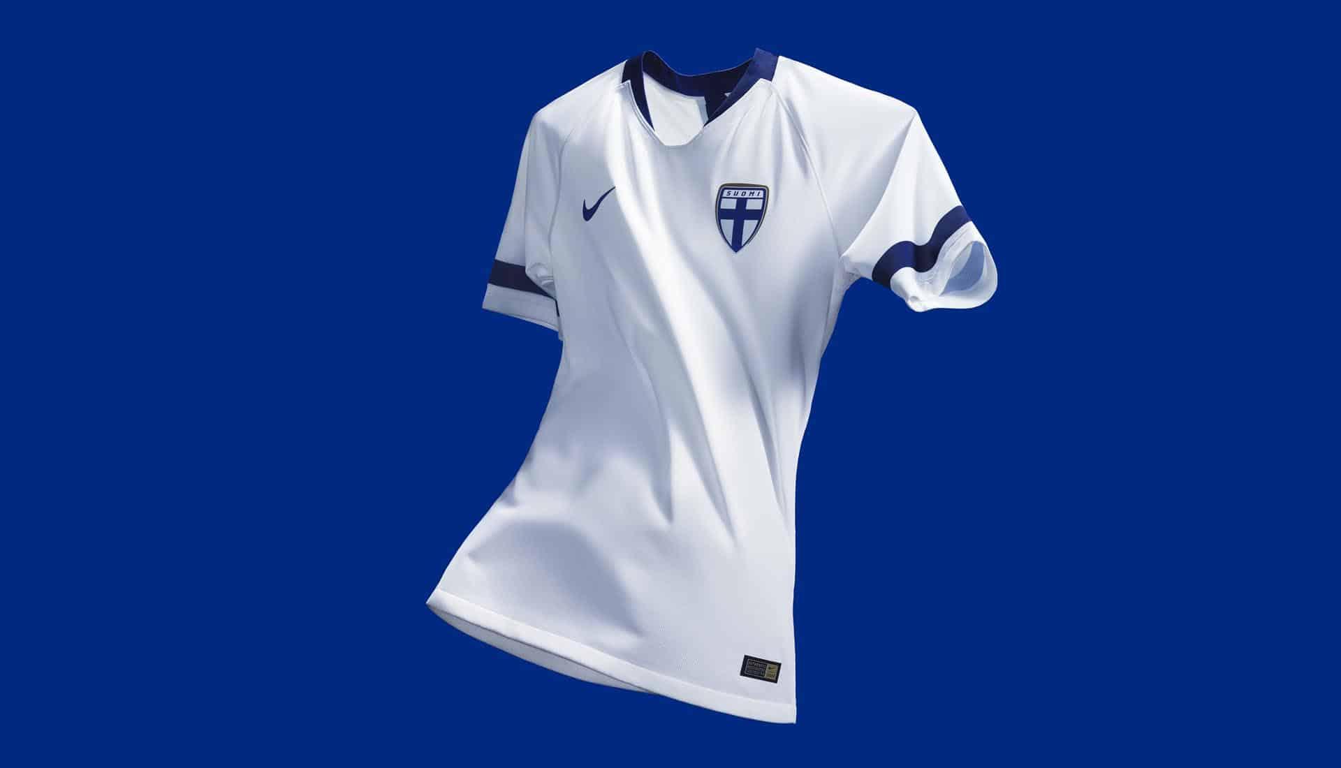 Nike dévoile les nouveaux maillots de la Finlande