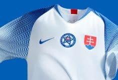 Image de l'article Nike dévoile le nouveau maillot domicile de la Slovaquie