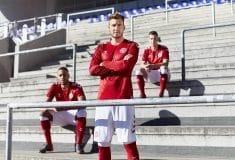 Image de l'article Les maillots du Danemark et les chaussures des 23 joueurs pour la Coupe du monde 2018