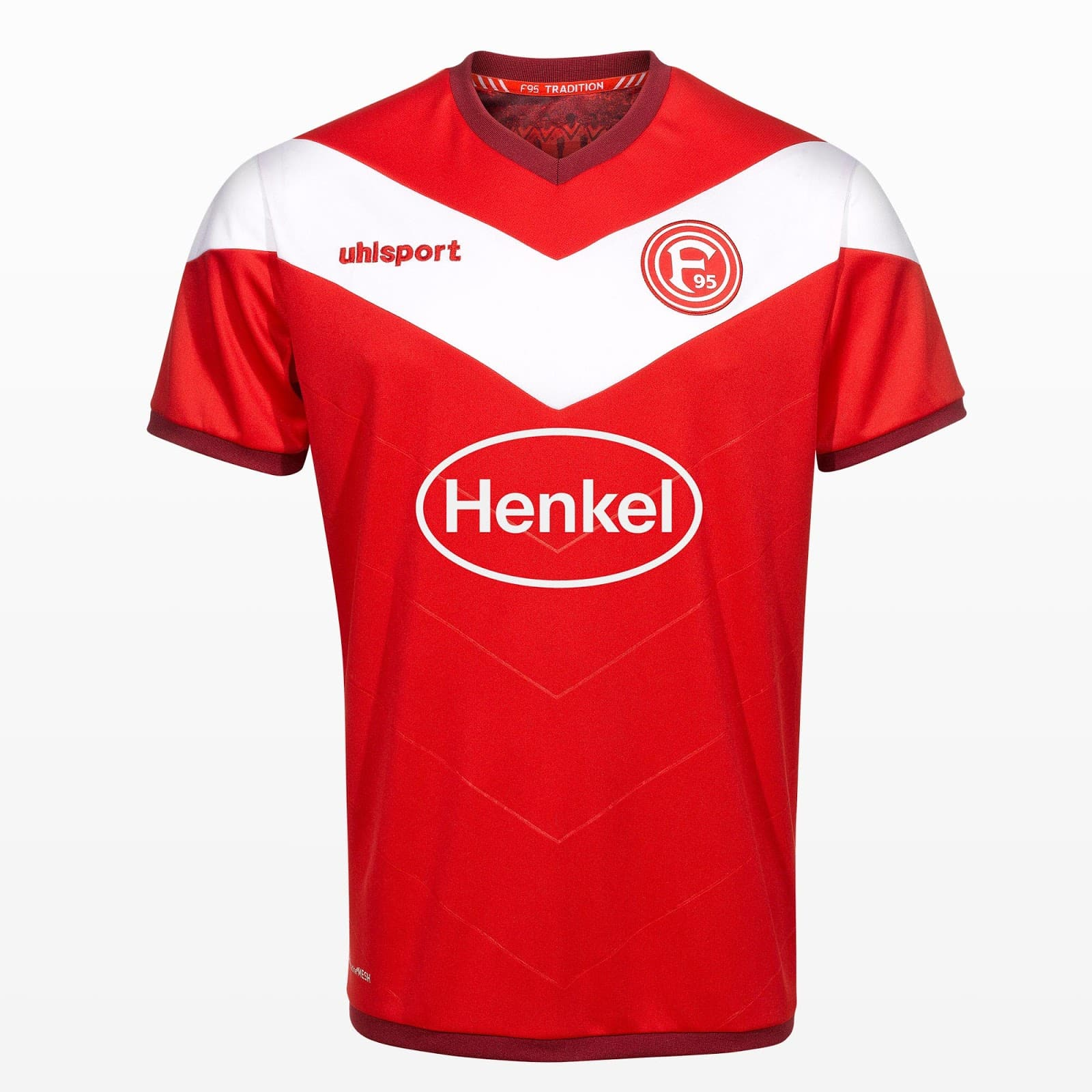 maillot-fortuna-dusseldorf-domicile-2018-2019-hummel