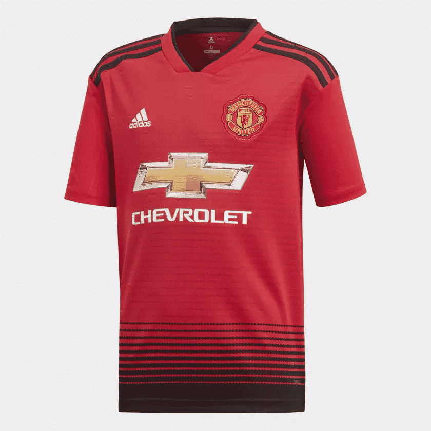 les maillots 2018 2019 de manchester united sign s adidas. Black Bedroom Furniture Sets. Home Design Ideas