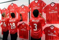 Image de l'article adidas dévoile les maillots du Real Madrid pour la saison 2018-2019