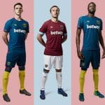 Umbro dévoile les maillots de West Ham pour la saison 2018/2019