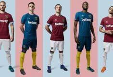 Image de l'article Umbro dévoile les maillots de West Ham pour la saison 2018/2019