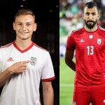 Les maillots de l'Iran et les chaussures des 23 joueurs pour la Coupe du Monde 2018