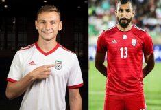 Image de l'article Les maillots de l'Iran et les chaussures des 23 joueurs pour la Coupe du Monde 2018
