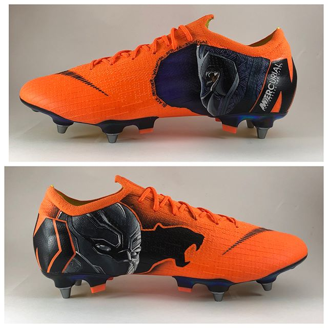 chaussures-Nike-Mercurial-Vapor-12-Salif-Sané-Black-Panther-by-Silny